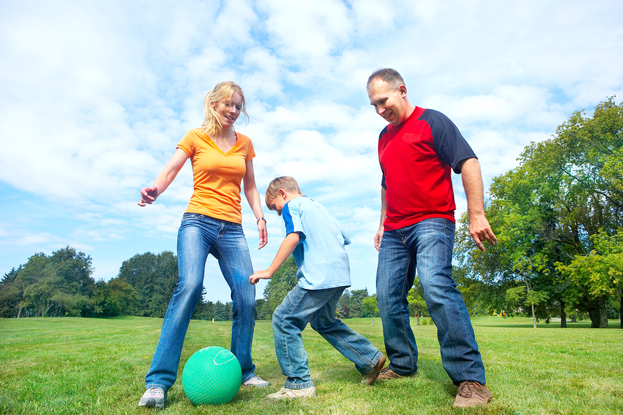 Family Playing Sports Together Which shares wella s storyFamily Playing Sports Together